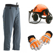 Chainsaw Personal Protective Equipment Kits