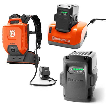Husqvarna Batteries & Chargers