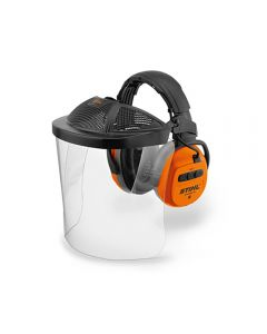 Stihl DYNAMIC BT Ear Protectors with Bluetooth & Polycarbonate Visor