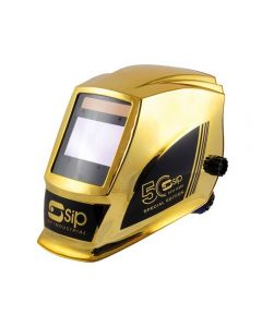 SIP 50th Edition Electronic Welding Headshield - GOLD