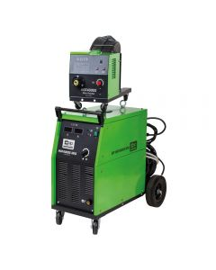 SIP HGT4000C Transformer MIG Welder with separate wire feed unit.