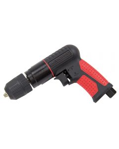 """SIP 3/8"""" air drill with keyless chuck requires 4CFM air consumption"""
