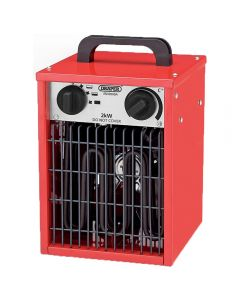 Draper 2kW space heater, requires 230v supply of electricity