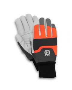 Husqvarna large chainsaw gloves with saw protection