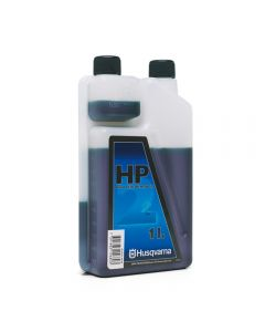 Husqvarna HP 2 Stroke Oil 1 litre dosage bottle