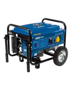 Draper 87088 2.5KVA Petrol Generator with Wheels