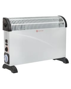 Sealey 2000w convector heater with turbo and timer fan - 230v (13amp) supply
