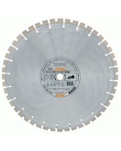 "Stihl 0835 094 7001 14"" / 350mm concrete / asphalt cutting wheel for soft materials."