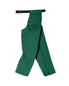 Genuine Stihl cut-protection seatless trousers offer class 1 chainsaw protection