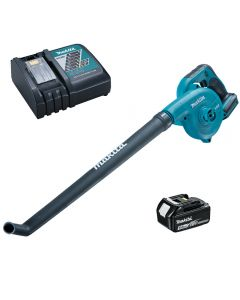 Makita DUB183 cordless blower including battery and charger