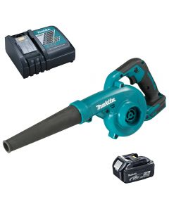 Makita DUC185RT Cordless Blower including battery and charger