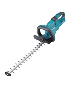 Makita twin 18v cordless hedge trimmer with 55cm blade can cut up to 18mm branch diameter