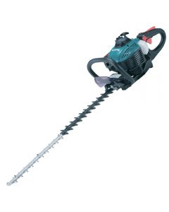 Makita EH7500W 22.2cc petrol 75cm hedge trimmer with double sided blades.