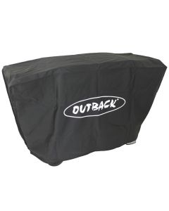 Genuine Outback cover to fit 3 burner flatbed barbecues.