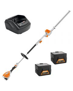 Stihl HLA56 PROMO comes with 2 x AK20 batteries and AL101 Charger