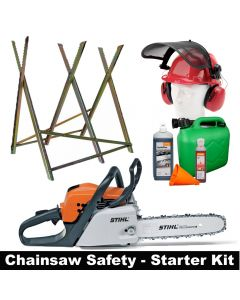 "Stihl MS171 14"" with safety starter kit"