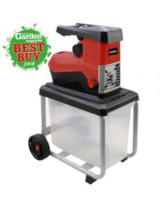 Cobra 2500w quiet shredder with 40mm capacity and 50 litre collection box
