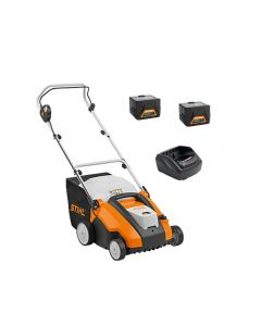 Stihl RLA240 Cordless Scarifier with 2 x AK30 batteries and AL101 charger