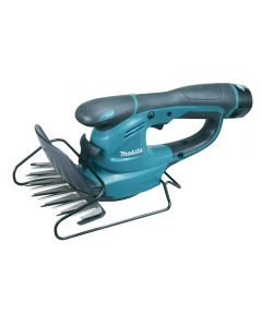 Makita 10.8v cordless grass shears with 1 x 1.3Ah lithium-ion battery