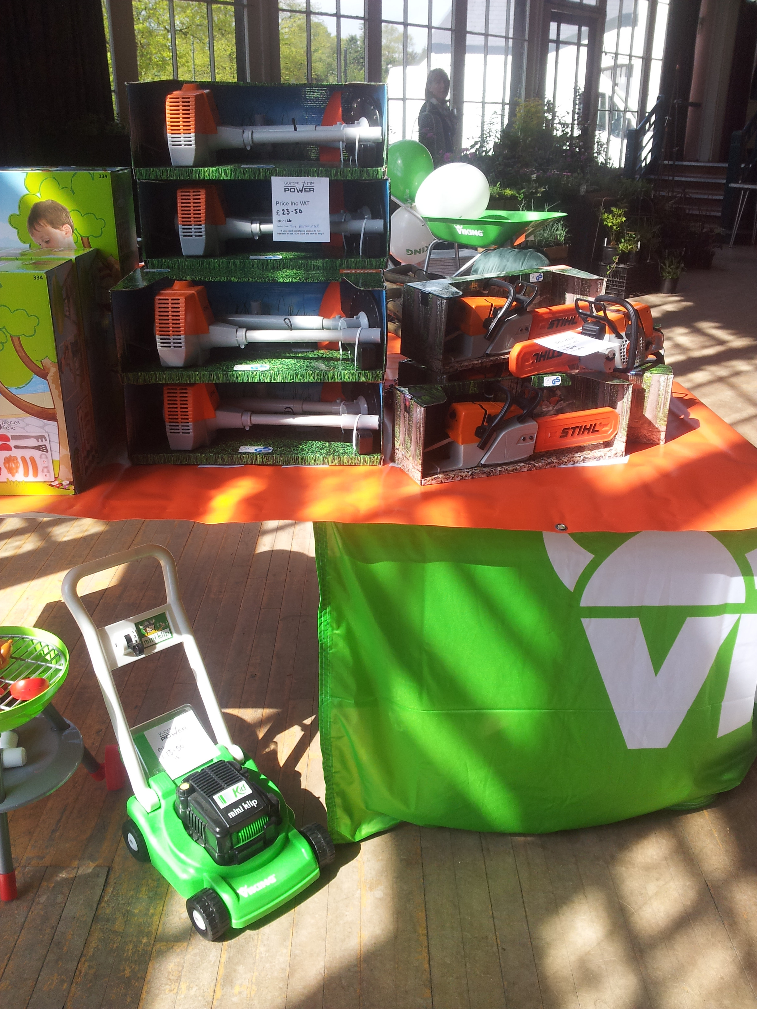 Stihl & Viking children's toys