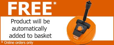 Free RA82 surface cleaner with Stihl RE109