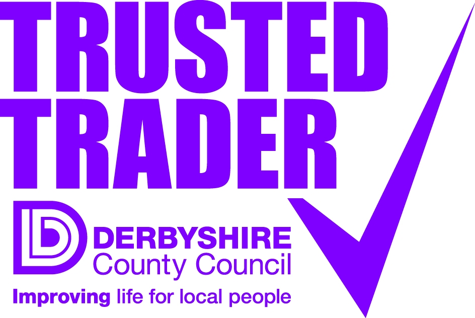 A member of Derbyshire Trusted Trader Scheme